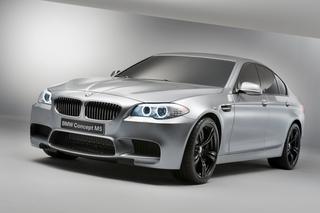 BMW Concept M5 - Erstmals mit Turbo