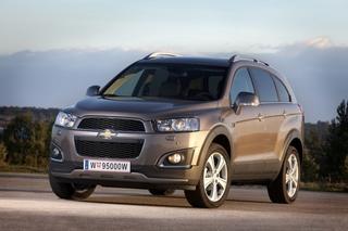 Chevrolet Captiva - Zweites Lifting für das Korea-SUV