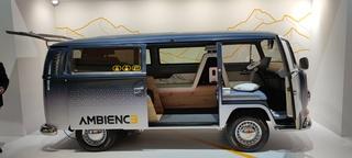 Innenraum-Konzept Continental Ambienc3 - Retro trifft Zukunft