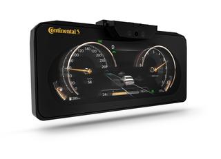 Continental: Dreidimensionales Display im Serieneinsatz  - Da gucks...