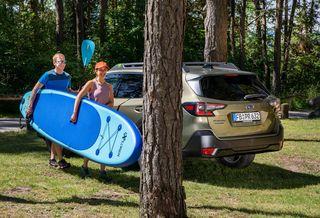 Subaru Outback Exclusiv Cross - Schwarz-grüner Anstrich fürs Campen
