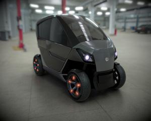 City Transformer  - Das elektrische Faltauto