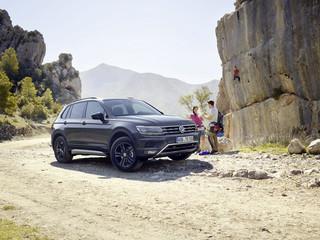VW Tiguan Offroad  - Näschen für Gelände