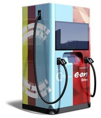 Schnelllader von Eon und VW   - Günstiger mit Batterie