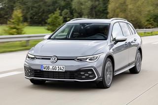 VW Golf Alltrack   - Als einziger mit Top-Diesel