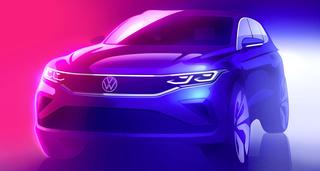 Facelift VW Tiguan  - Golf 8 inside