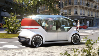 VW OnePod Concept - Selbstfahrender Volksstromer