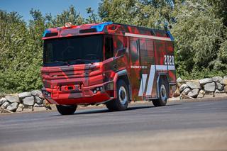 Elektrisches Feuerwehrauto   - Ohne Verbrennung zum Feuer