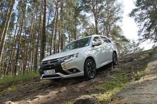 Fahrbericht: Mitsubishi Outlander Plug-In-Hybrid - Stromern im Gelände
