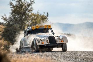Morgan Plus Four CX-T - Rallye-Roadster