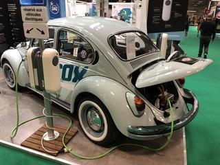 Die kleinen Highlights des Pariser Autosalons - Im Käfer funkt's