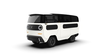 Elektro-Kleinbus eBussy - Flexibles Multitalent