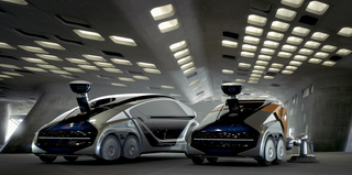 Edag Citybot - Vielseitig einsetzbares Robotermobil