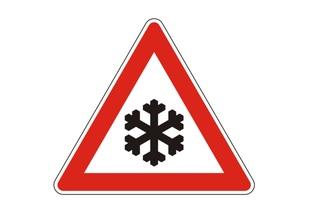 Ratgeber: Schneebedeckte Schilder - Was gilt?