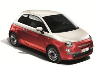 Fiat 500-Sondermodell - Per Aufkleber zum Einzelstück