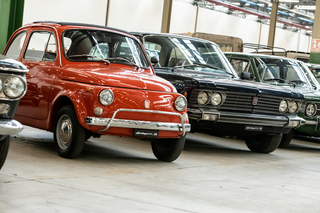 Panorama: Abarth-, Fiat- und Lancia-Heritage-Hub - Bald auch für da...
