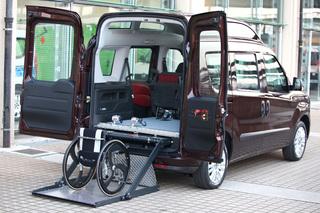 Fiat Sonderumbauten - Mobil trotz Behinderung