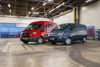 Neue Diesel für Ford Transit und Transit Custom - Update für die La...