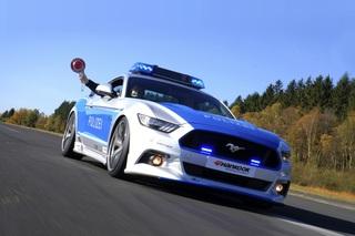 Ford Mustang als Polizeiauto - Ein Wildpferd für den Sheriff