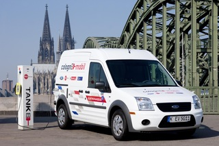 Ford Transit Connect Electric - Deutlicher E-Aufschlag