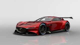 Mazda RX-Vision GT3 Concept  - Virtuell bewegt