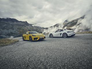 Fahrbericht: Porsche 718 Cayman GT4/Spyder - Wieder mit Sechszylinder
