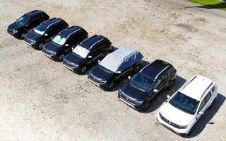 Vergleichstest: Hitzeschutz für Autos - Halbgarage hilft am besten