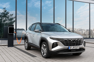 Hyundai Tuscon   - Jetzt auch mit Stecker