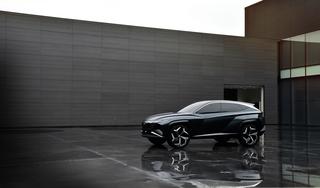 Hyundai Vision T - Verstecktes Licht