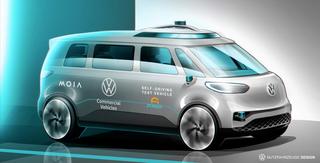 Autonomes Fahren   - VW startet 2025 in Hamburg mit Robo-Shuttles