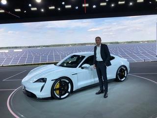 Premiere: Porsche Taycan - Saubere Kraft in schöner Form