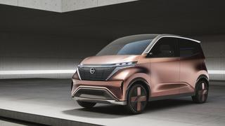 Nissan IMk concept - Kleines Pendler-Heim