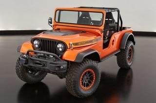 Jeep-Studie für Ostern - Sieben auf einen Streich
