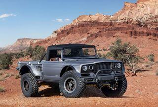 Sechs Konzeptautos auf der Jeep Easter Safari - Die neue Lust auf L...