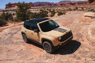 Jeep Renegade 2017 - Besser kraxeln, schneller schalten