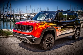 Jeep Renegade Hell's Revenge - Heißes Teil