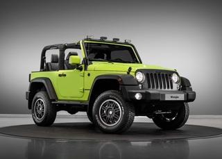 Jeep Wrangler/Renegade im Mopar-Style - Knallbunte Kletterkünstler