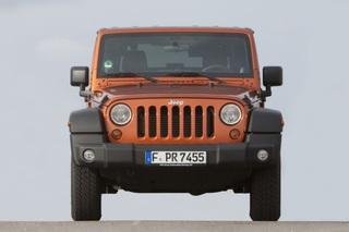 Jeep Wrangler - Bequemer klettern