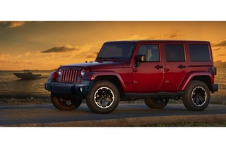 Jeep Wrangler Black Edition - Schwarz statt Silber