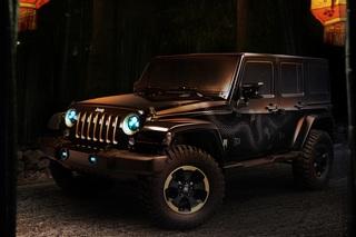 Jeep Wrangler Dragon - Offroad-Dino im Jahr des Drachen