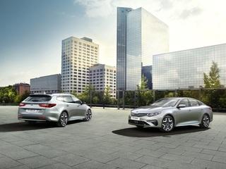 Kia Optima/Optima Sportswagen Plug-in-Hybrid  - Überarbeitet und fö...