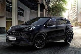 Kia Sportage Black Edition   - Schwarz und komfortabel