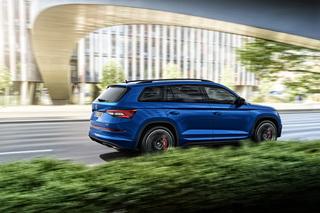 Skoda Kodiaq RS - Sport-SUV mit Power-Diesel