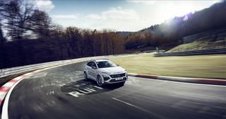 Hyundai Kona N   - Hoch und schnell