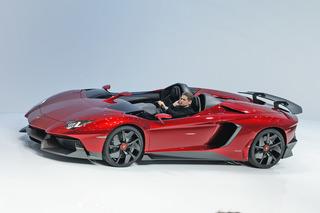 Lamborghini Aventador Jota - Niedrig und ganz oben