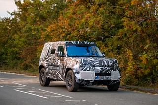 Neuer Land Rover Defender - Landy kommt 2020 und bleibt kantig