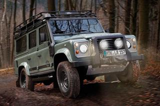 Defender Blaser Edition - Land Rover bläst zur Jagd