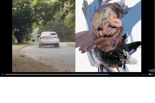 Kunst im Lexus IS 300h - Effizienz schafft Schönheit