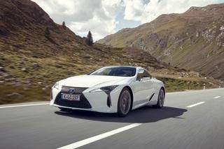 Fahrbericht: Lexus LC 500h     - Der Hybrid-Gleiter