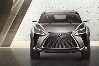 Lexus LF-NX - Tarnkappen-SUV mit Hybridantrieb